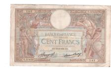 Billet 100 francs Merson 1936 TTB-