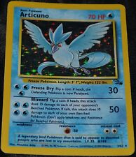 Holo Foil Articuno # 2/62 Original Fossil Set Pokemon Trading Cards Rares SP