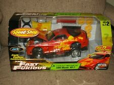 Ertl Joyride Fast & Furious Speed Shop 1994 Mazda RX-7 Diecast Car 1:18 *RARE*