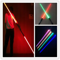 US New Star Wars Lightsaber Dual Saber Cosplay Sound Effect 16 Colors Props Gift