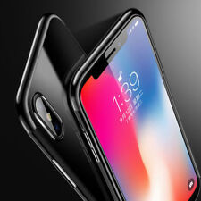 Luxury Cover Apple iPhone X 10 High Quality Clear Gel TPU Skin Jelly Soft Case