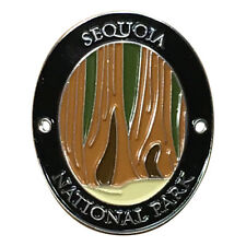 Sequoia National Park Walking Hiking Stick Medallion - Giant Redwoods California
