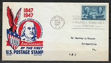 United States 1947 event cover Benjamin Franklin 1st Postmaster General RARE