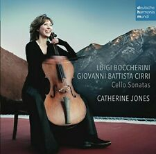 CATHERINE/MCGILLIVRA,A./ JONES-BOCCHERINI & CIRRI: CELLO SONATAS  CD NEU