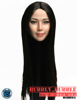 1/6 Female Head Sculpt ASIAN Version A For PHICEN Hot Toys Figure SHIP FROM USA