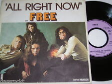 """7"""" - Free / All right now & Mouthful of Grass - France MINT # 4149"""