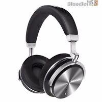 Bluedio T4S Bluetooth 4.2 Cordless Headphones Stereo ANC Wireless Headset, Mic