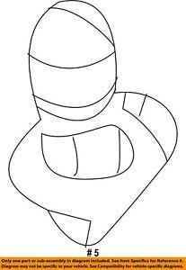 CHRYSLER OEM-Exterior Bulb L000921E