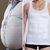 KQ_ Men Body Slim Tummy Shaper Belly Underwear Shapewear Waist Girdle Shirt Vest