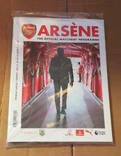 Arsenal v Burnley. #MerciArsene Programme & Merci Arsene Keyring