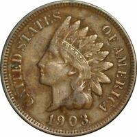 1903 Indian Cent - Very Nice High Grade Circ Collector Coin! -d990unx