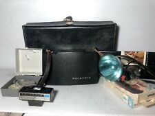Vintage Polaroid Land Camera Automatic 100, As Pictured Collectible Rare