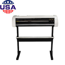 Us 33 Plotter Machine Cutter Vinyl Cutter Plotter Withsoftware With Stand Ce