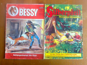 Bessy Comic Nr. 25 /Silberpfeil Comic Nr. 10