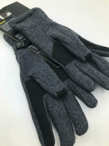 Under Armour Youth Survivor Fleece Gloves, Black /Steel, Youth Small