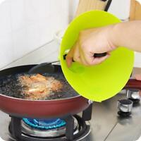 Cooking Splash Shield Oil Splatter Protection Hand Cover Kitchen Frying Guard
