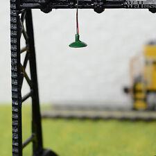 lot 15 Modèle Train Lampadaire HO maquette à LED éclairage mural Lumière R60BG