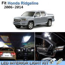 18pcs Bright White Interior LED Lights Package Kit For 2006-2014 Honda Ridgeline