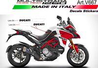 Kit adesivi per Ducati Multistrada 1260 Pikes-Peak