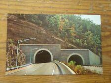 Vintage Postcard Double Tunnel On I-40 Near Asheville, North Carolina