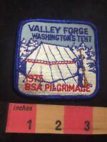 Vtg 1974 Valley Forge Washington's Tent BSA Pilgrimage Boy Scouts Patch 80XE