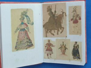 1:12scale Book, Theatre Costumes (Antique)  , Crafted by Ken Blythe