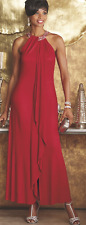 sz 14 Red Elsa Gown Dress formal wedding party cruise by Ashro
