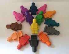 100 Crayon Lego Men, Party Bag Filler, Wedding Favour, Christmas