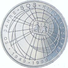 Better Date - 1999 Germany 10 Mark - SILVER *155