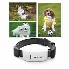 TKSTAR MiNi Pet GPS Tracker Necklace GSM GPRS TK909 Real Time  For Dog Cats Pets