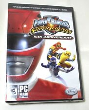 Power Rangers Super Legends 15TH Anniversary PC Game NEW