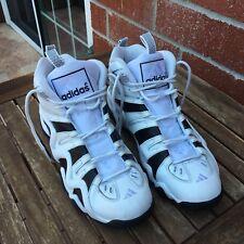 ADIDAS Crazy 8 Kobe Bryant SIZE 11 White Black Purple Sole Basket Ball Shoes