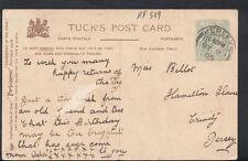 Family History Postcard - Billot - Hamilton House, Trinity, Jersey    RF509