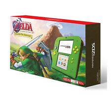 NEW NINTENDO 2DS CONSOLE WITH THE LEGEND OF ZELDA: OCARINA OF TIME 3D