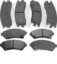 Front & Rear Set Brake Pads for 2000 2001 2002 Buick LeSabre 15 INCH WHEELS