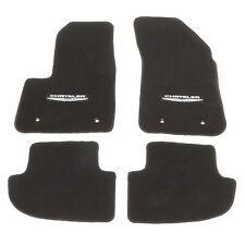 """OEM NEW MOPAR Set of 4 Premium Carpet Floor Mats """"Chrysler"""" Logo 12-14 200"""