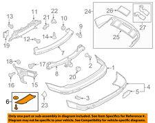 AUDI OEM 10-15 Q7 Rear Bumper-Cover 4L0807087B