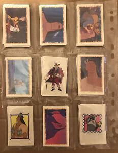 PANINI Disney POCAHONTAS 1995 Near Full Set 200/232 New Loose Un-Stuck Stickers