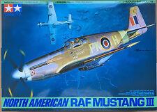 Tamiya 61047 North American RAF MUSTANG III 1/48 Modelo Kit Nuevo En Caja