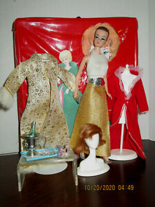 Fashion Queen Barbie clothing and case lot!