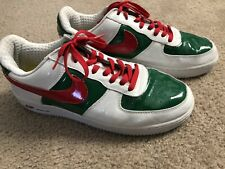 Nike Air Force One Mexico World Cup 2006 (White, Green, Red) Shoes Men's Size 12