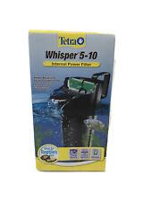 Tetra Whisper Internal Power Filter 5-10 Gallon Aquarium Fish Reptiles Turtle