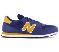 New Balance Classics 500 Sneaker Homme Chaussures Bleus de Sport GM500RBY GM500