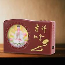 Great Compassion 48-in-1 Buddha Pray Machine with Colorful LED US Plug 100-250V