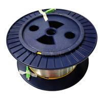 Fiber Optic OTDR Launch Cable SC APC SM 1KM OTDR Testing Bare Fiber Cable Spool