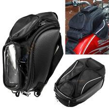 Universal Magnetic Motorcycle Motorbike Oil Fuel Tank Saddle Bag For Travel