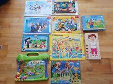 Spielepaket Puzzle Lern Spiele Lernen Kinderspiele Winnie Pooh