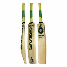 Cricket Bat Kashmir Willow Exclusive One Size 6Gear Net Practice T20 Tournament