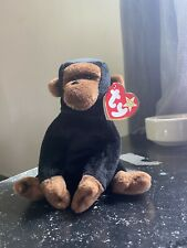 Ty Beanie Baby Congo the Gorilla Plush Toy - 4160 Retired 1996 with P.E Pellets