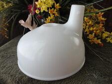Sunbeam Mix Master White Juicer Reamer FUNNEL Basin Bowl Vintage
